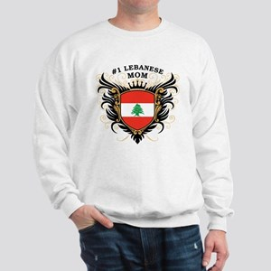 Number One Lebanese Mom Sweatshirt