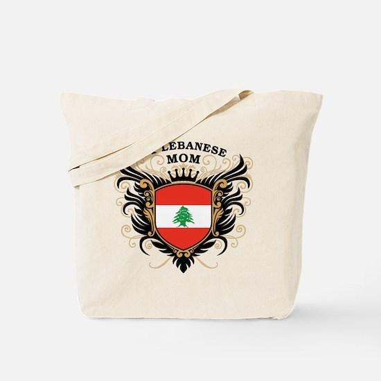 Number One Lebanese Mom Tote Bag