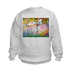 Garden / English Setter Kids Sweatshirt