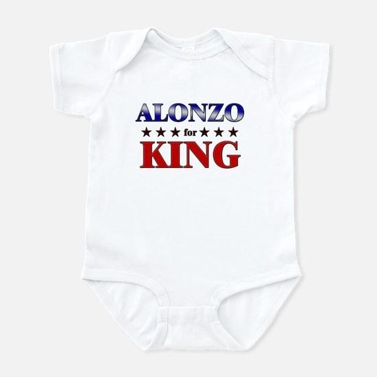 ALONZO for king Infant Bodysuit