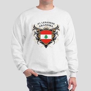 Number One Lebanese Grandma Sweatshirt