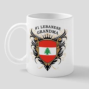 Number One Lebanese Grandma Mug