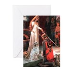 Accolade / English Setter Greeting Cards (Pk of 10