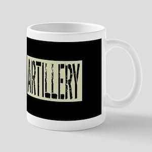 U.S. Military: Artillery (Black 11 oz Ceramic Mug