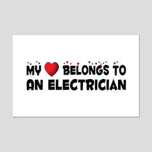Belongs To An Electrician Mini Poster Print