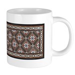 Edwardian Tile 20 Oz Ceramic Mega Mug Mugs