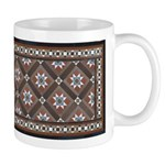 Edwardian Tile 11 Oz Ceramic Mug Mugs