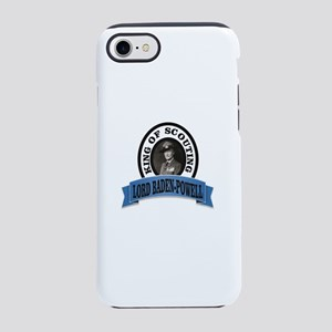 baden powell king of Scouts iPhone 8/7 Tough Case