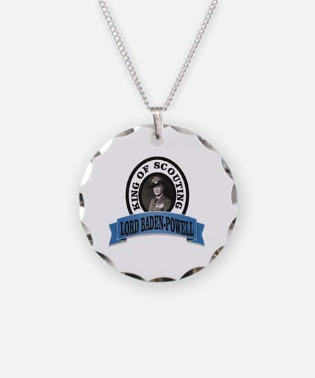 baden powell king of Scouts Necklace