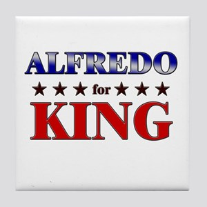 ALFREDO for king Tile Coaster