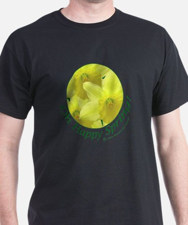 Daffodils, Oh Happy Spring T-Shirt
