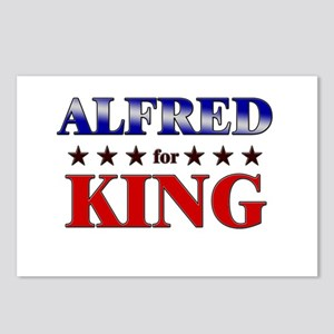 ALFRED for king Postcards (Package of 8)