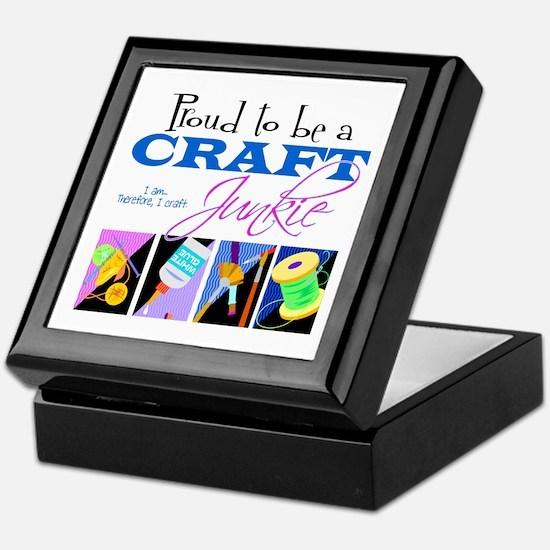 Craft Junkie Keepsake Box