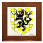King of An Tir Framed Tile