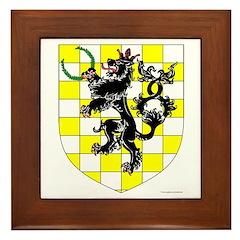 King of An Tir Framed Tile