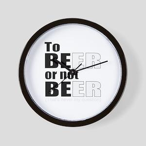 Beer of Shakespeare Wall Clock