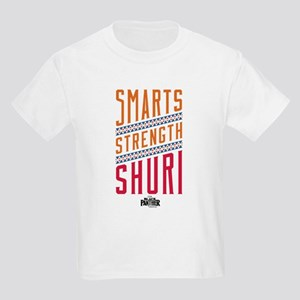 Black Panther Strength Shuri Kids Light T-Shirt