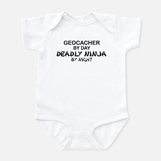 Geocacher Deadly Ninja Infant Bodysuit