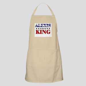 ALEXIS for king BBQ Apron