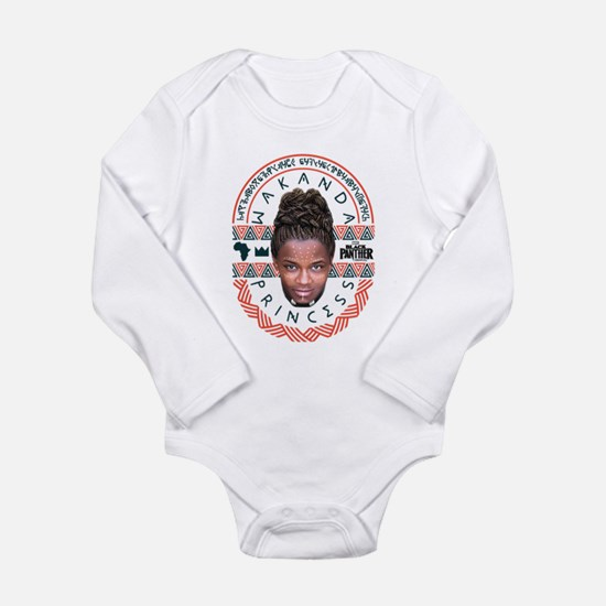 Black Panther Shuri Long Sleeve Infant Bodysuit