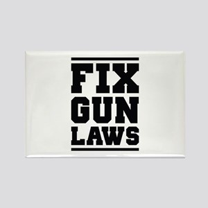 Fix Gun Laws Rectangle Magnet