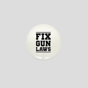 Fix Gun Laws Mini Button