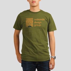 Black Panther WDG Organic Men's T-Shirt (dark)