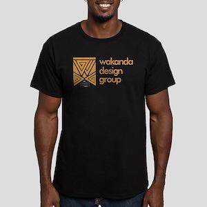Black Panther WDG Men's Fitted T-Shirt (dark)