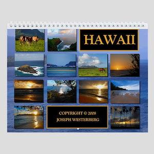 Kauai Hawaii Wall Calendar