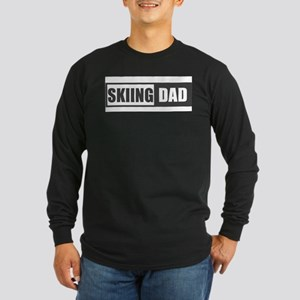 Skiing Dad Long Sleeve T-Shirt