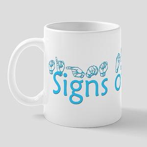 Signs of Praise Mug