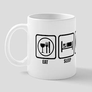 Eat, Sleep, 9 Ball Mug