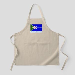 Mankato MN Flag BBQ Apron