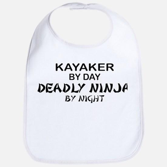 Kayaker Deadly Ninja Bib
