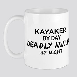 Kayaker Deadly Ninja Mug