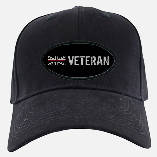 British Flag Red Line: Vetera Baseball Hat