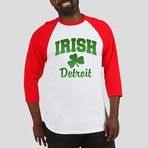 Detroit Irish Baseball Jersey