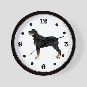 Rottweiler Wall Clock