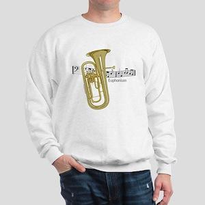 Euphonium Music Sweatshirt