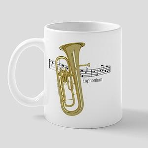 Euphonium Music Mug