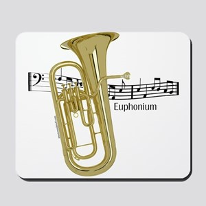 Euphonium Music Mousepad