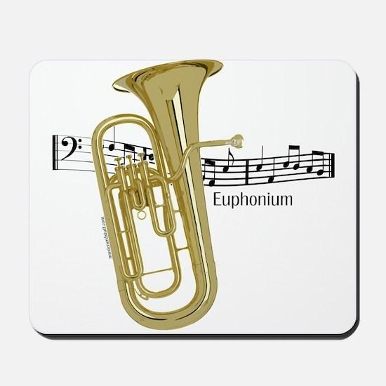 Euphonium Music Mousepad