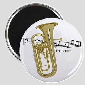 Euphonium Music Magnet