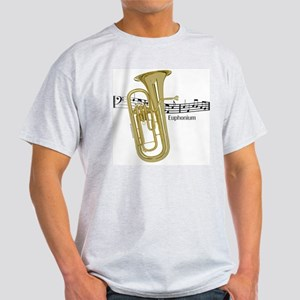 Euphonium Music Light T-Shirt
