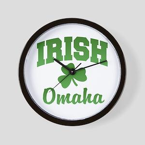 Omaha Irish Wall Clock