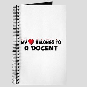 Belongs To A Docent Journal