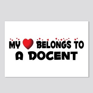 Belongs To A Docent Postcards (Package of 8)