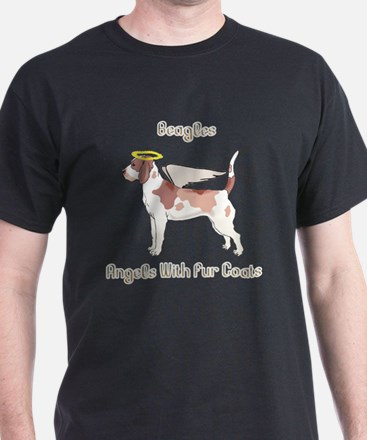 Beagles Are Angels With Fur Coats T-Shirt
