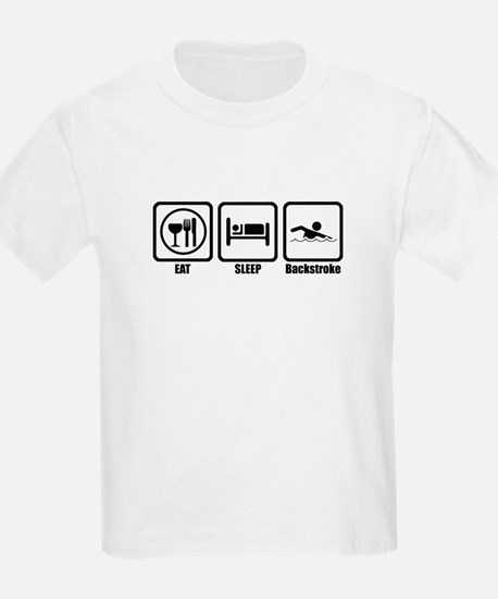 Eat, Sleep, Backstroke T-Shirt
