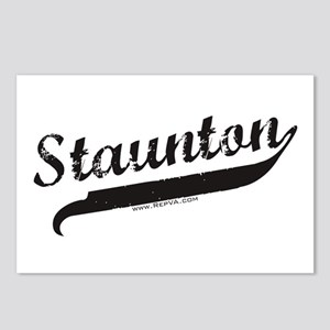 Staunton Postcards (Package of 8)